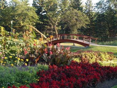 The Flower Garden at Kildonan Park (2006)