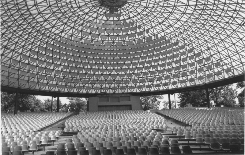 Interior of the Rainbow Stage in 1989.