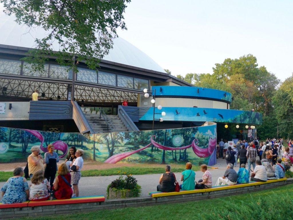 Rainbow Stage at Kildonan Park (2017)