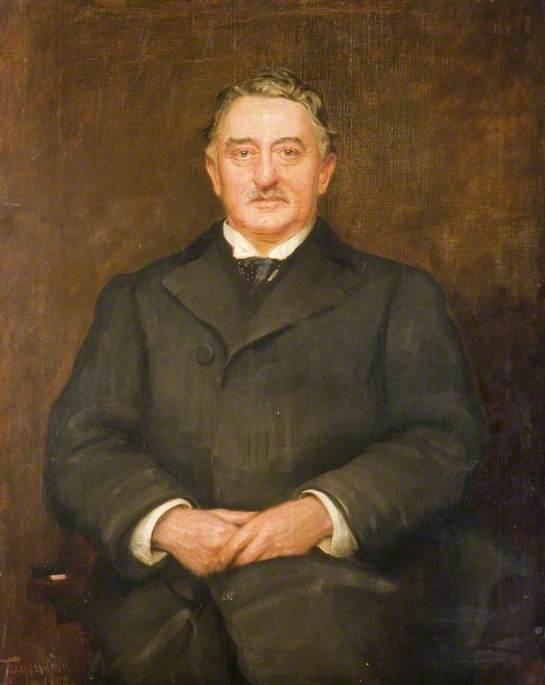 Portrait of Cecil Rhodes By Philip Tennyson Cole