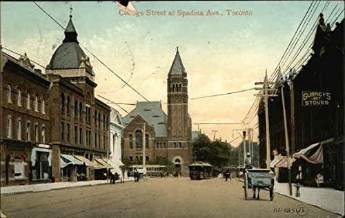 College Street at Spadina Avenue - Toronto.