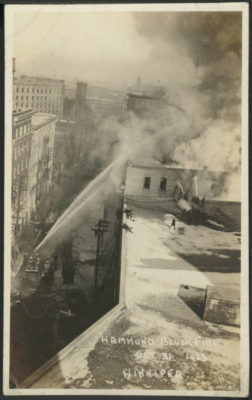 The Hammond Block Fire (October 31, 1923)