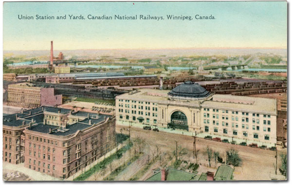 Union Station from a postcard in the 1920s