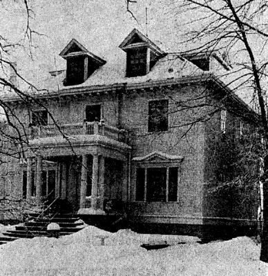 Bracken House in 1973.