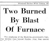 Newspaper headline about Leonard Bilton.