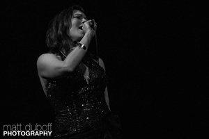 Tanya Tagaq performing at the WECC