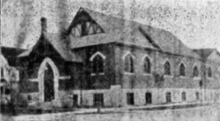 St. Matthews Church circa 1911