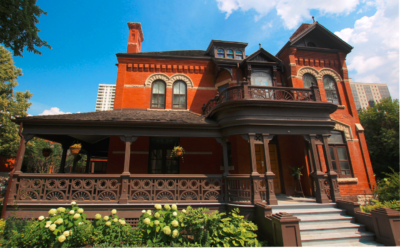 Dalnavert is an excellent example of ornate Queen Anne architecture
