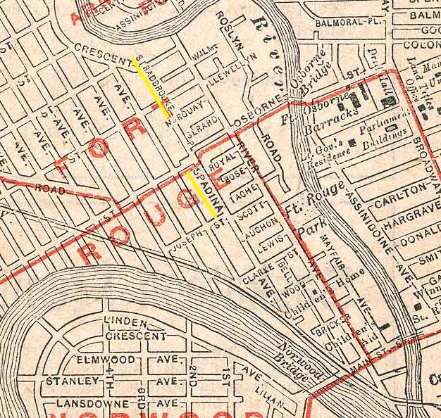 Waghorn's Guide Map of Winnipeg, 1908