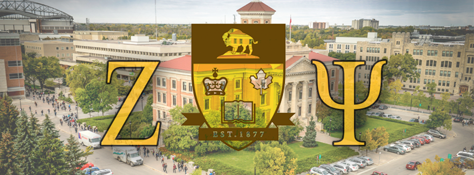 A chapter of Zeta Psi was active at the University of Manitoba until 2010.