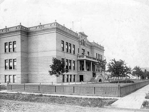 Cecil Rhodes School #1 in 1908