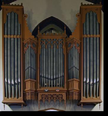 Organ façade - west (tower)
