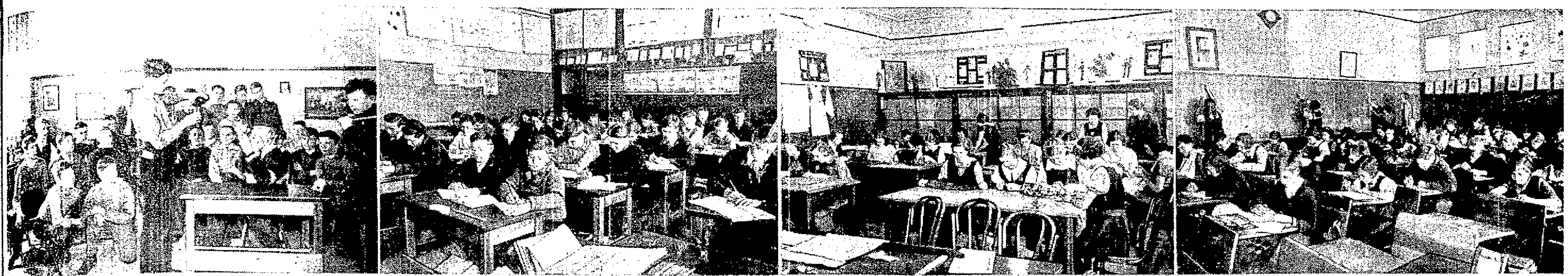 Interior of Cecil Rhodes School