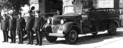St. Vital Fire Department firetruck.