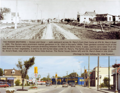 St. Mary's Road then vs now