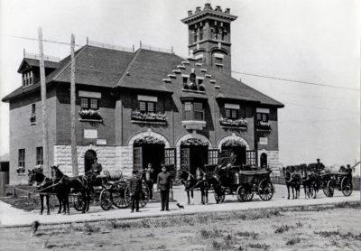 The original St. Vital Fire Department