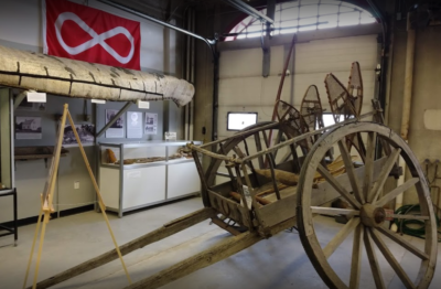 The St. Vital Museum's Red River Cart