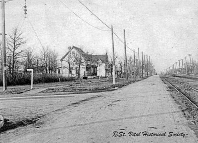 St. Mary's Road from 1920
