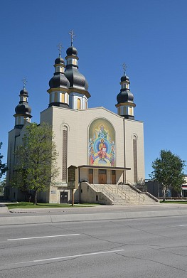 Mosiac at the Holy Trinity Ukrainian Orthodox Metropolitan Cathedral