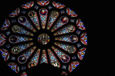 Christ the King Rose Window from 1950