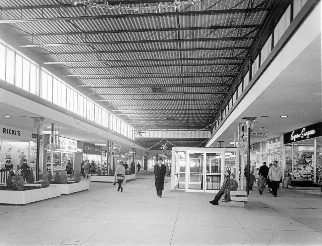 Enclosed Polo Park mall